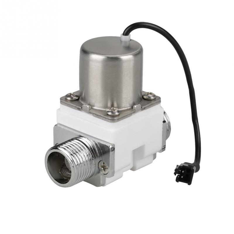 2019 Neuestes Design Durable Kunststoff G1/2 Dc 4,5 V Wasser Control Elektrische Pulse Magnetventil Zubehör Sanitär