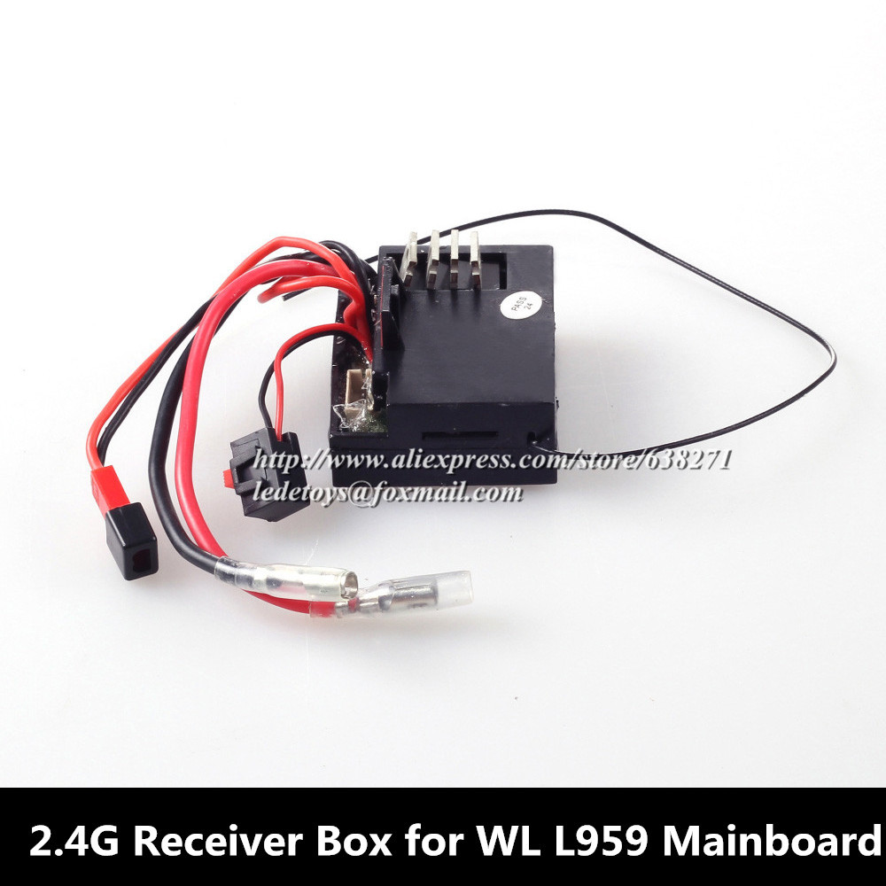 WL Toys Accessory L959/L303 Mainboard 2.4G Receiver Box L959 4WD RC Hobby Buggy car Spare Parts Accessory Receiver box L959-38