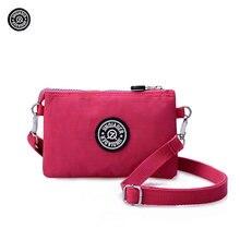 JINQIAOER Women Waterproof Nylon Messenger Bags Fashion Female shoulder Bags Bolsa Feminina Purse Handbags Designer Bolsas