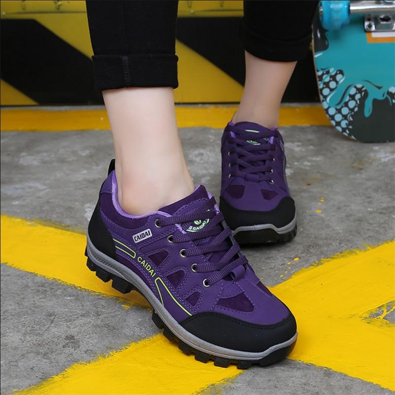 2018 Automne Femmes Étanche Travail Chaussures Voyage Chaussures Non-slip Respirant Sneakers En Plein Air Casual Chaussures Femme Zapatos Hombre