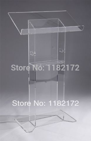 Free shipping Hot Sell custom  podium / lectern acrylic lectern free shipping hot sell beautiful simple elegant acrylic podium pulpit lectern podium