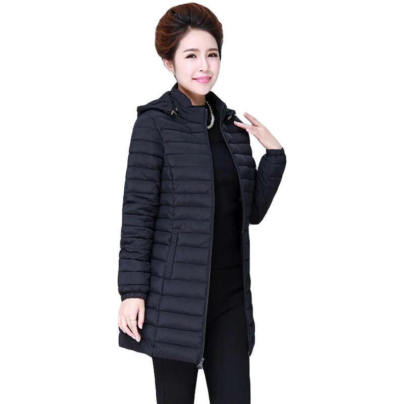Большие размеры 7XL женские парки 2019 модные зимние куртки женские s пуховики хлопковые куртки пальто женские пальто с капюшоном женские свободные куртки