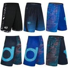 Спортивные мужские шорты для занятия баскетболом с принтом, дизайн для тренировок, пляжа, баскетбола, бега, спортивные шорты, свободные, половина длины, размера плюс, с двойным карманом