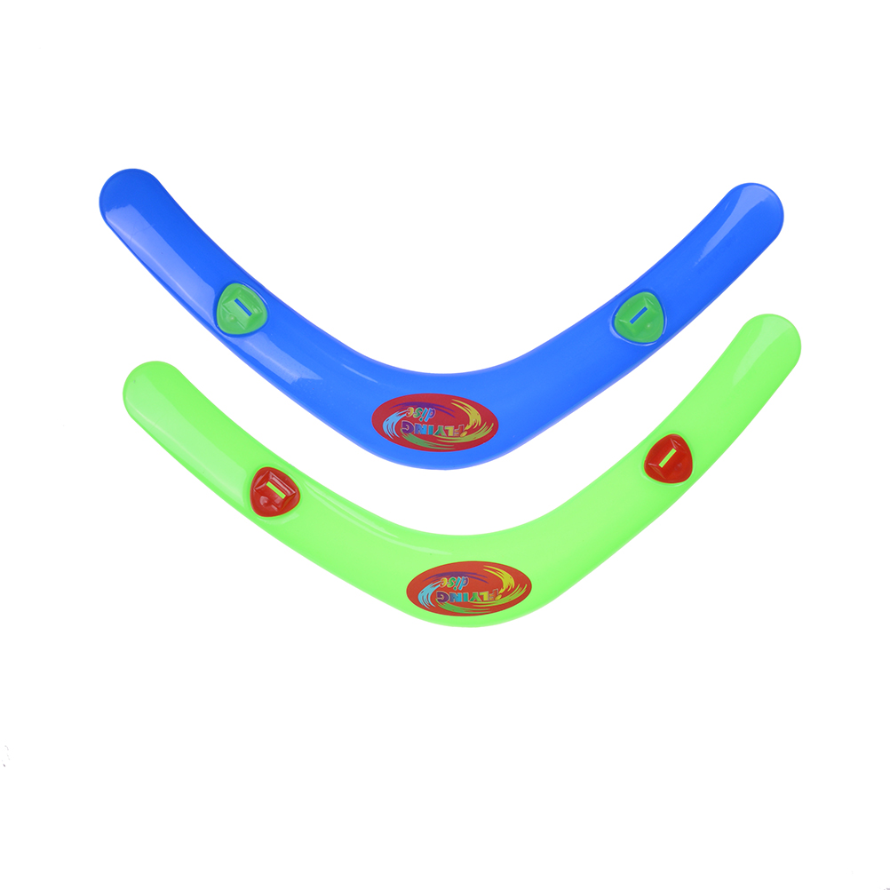1Pc V Shaped Boomerang Dart Flying Disc Kids Toy Flying Saucer Throw Catch Outdoor Game For Children Adult