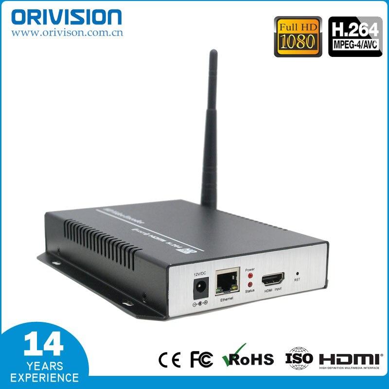 L'encodeur vidéo HDMI H.264 de ZY-EH101W et l'encodeur WiFi prennent en charge RTSP/RTP/RTMP/HTTP/UDP/protocole et ONVIF pour la diffusion en direct IPTV