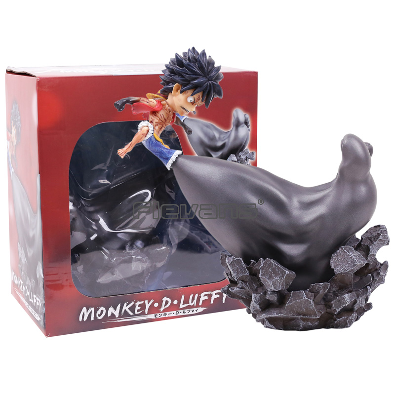 Anime One Piece Monkey D Luffy 1/8 Scale PVC Figure Collectible Model Toy 2style anime one piece king of artist the monkey d luffy sc pvc action figure collectible toy 21cm
