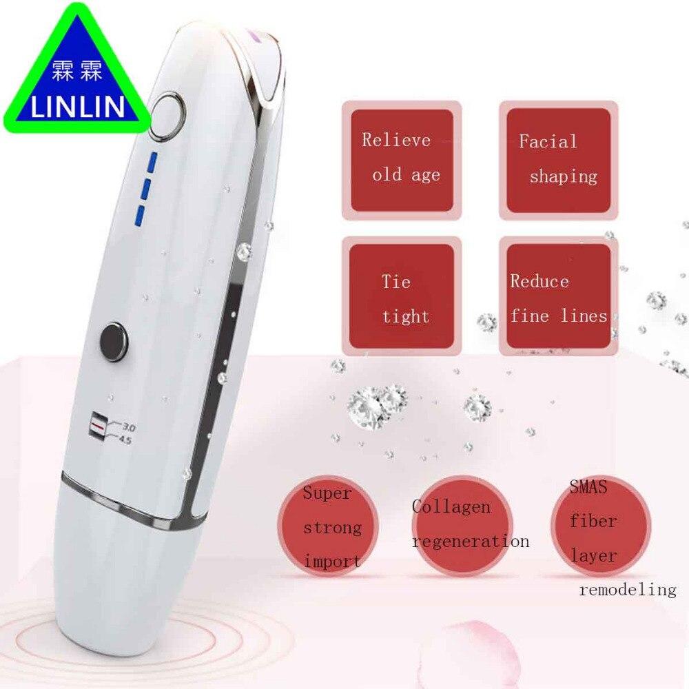 LINLIN Inutile pneumatico forma Compatta Anti rughe e rughe Famiglia bambino faccia macchina Ad Ultrasuoni bisturi Cosmetologia