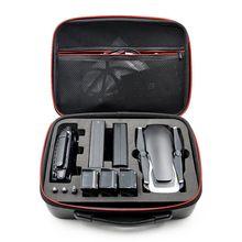Bolsa de almacenamiento resistente al agua, estuche de mano de concha dura para llevar DJI MAVIC Air Drone y 3 baterías y accesorios
