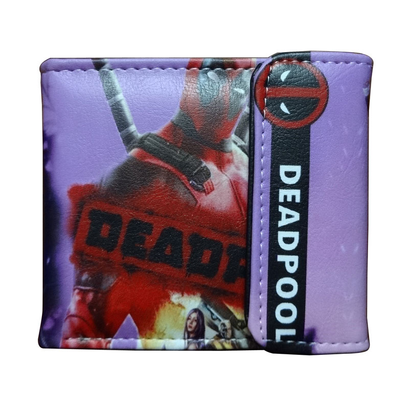 Dc Marvel Comics Anime Geldbörse Super Hero Deadpool Brieftasche Avengers Superman Captain America Batman Iron Man Leder Kurze Geldbörsen