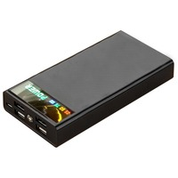 External Battery Portable Power Bank LED Flash Light LCD Digital Display 4 USB Interfaces For IPhone