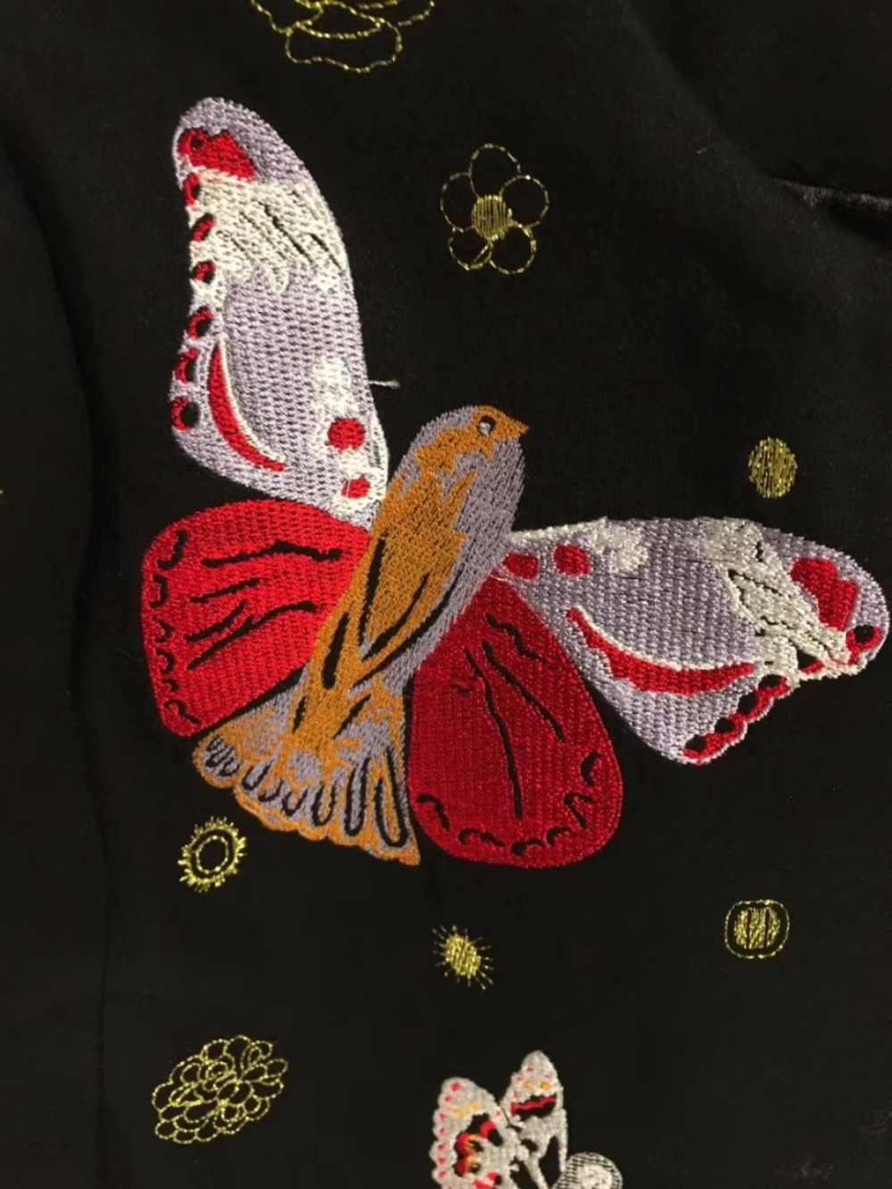 Vetement Femme 2018 เสื้อคลุมแฟชั่นเย็บปักถักร้อยCape Coatอารมณ์ที่สวยงามผู้หญิงเสื้อผ้าElegant woolen casaco feminino