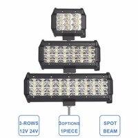 Offroad LED Work Light 4 7 9 Inch Headlight 27W 54W 81W Car 12V 24V TRUCK