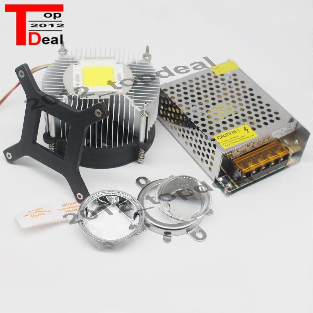 Dc12v 20w 30w 50watt High Power White Led Light Heatsink Driver 12v Drive 7 Efficiency Flashlight Lens In Bulbs Tubes From Lights Lighting On Alibaba Group