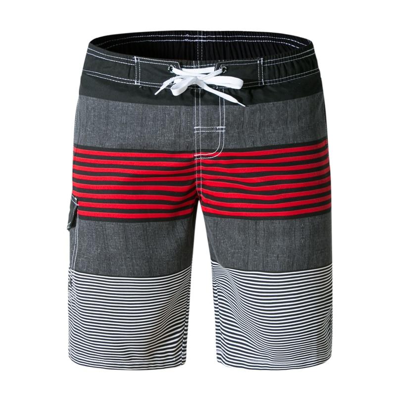 Men's Clothing Plus Size New Summer Fashion Board Shorts Mens Clothing Roupas Swimwear Men Short Masculino Praia Gay Swimwea Striped Casual