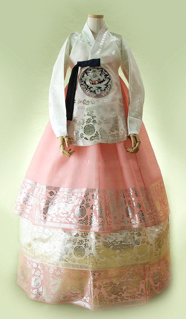 Hanbok Dress Traditional Korean Ceremony Costume DANGUI Korean Royal Costume