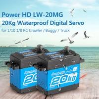 Power HD LW-20MG 20Kg Wasserdichte Hohe Drehmoment Digital Servo mit Metall Getriebe für RC 1/10 1/8 Off-road auto Buggy Lkw