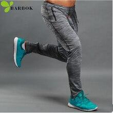 BARBOK compression sportswear sport leggings Excising sports pants jogging men yoga fitness legging running