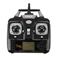 SCLS New Syma Transmitter Remote Control For SYMA X5 And X5C Quadcopter Drone Remote Control Black