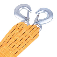 3M 3 Tons Tow Rope Strap with Hooks Emergency Heavy Duty Car Tow Cable Heavy Duty Towing Pull Rope