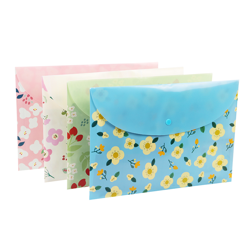 1PC A4 Folders School Supplies Cartoon  Rabbit Folders Office Stationery Storage Document Bag For Student Gift
