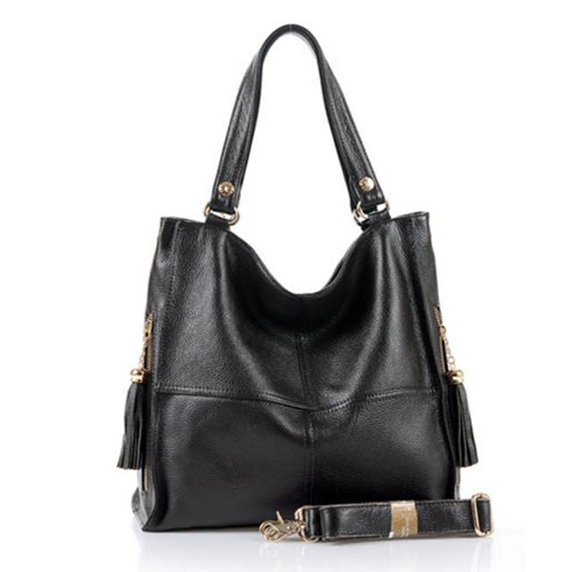 Genuine leather women's handbag 2017