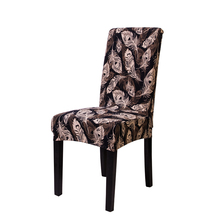 MECEROCK Stretch Elastic Dining Chair Cover Spandex Stretch Elastic Seat Cover for Banquet Wedding Home Decor
