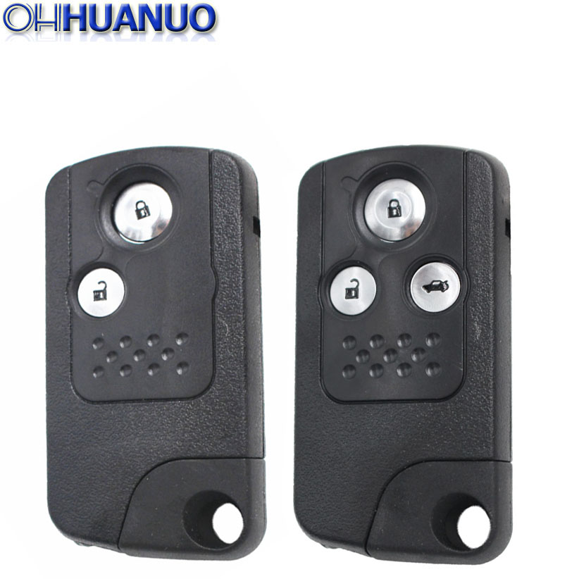 Honda Civic Key Replacement >> Us 7 73 13 Off 2 3 Button New Replacement Flip Key Shell For Honda Civic Accord Cr V Odyssey Remote Key Case Fob Refit Smart Design In Car Key