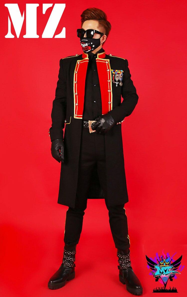 Conjunto d pants Jacket Jacket Chaqueta Dj Jacket Hombre Baile b Club Abrigo A Bailarina De Para Nocturno Ropa Cantante Anfitrión c Moda Ajustado Escenario Jacket Traje Vestido x4vFHwSqH
