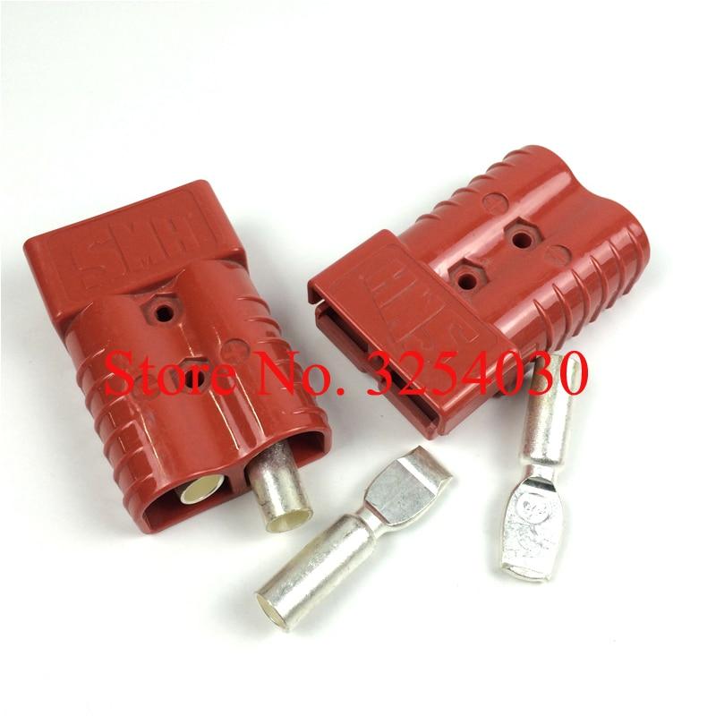 Поставка домашних красных разъемов для аккумуляторов SMH 600 в а SMH350, замена SB350 для электрических грузовиков с поддонами