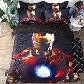 Комплект постельного белья с 3D Веном, Мстители Marvel, Железный человек, вспышка, двойное одеяло, королева, король, комплекты постельного белья, постельное белье - фото