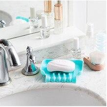 Soap Storage Box Dish Multifunctional Living Barthroom Sink Storage Basket Dishwashing Sponge Drain Shelf Silicone Soap Box@YL$