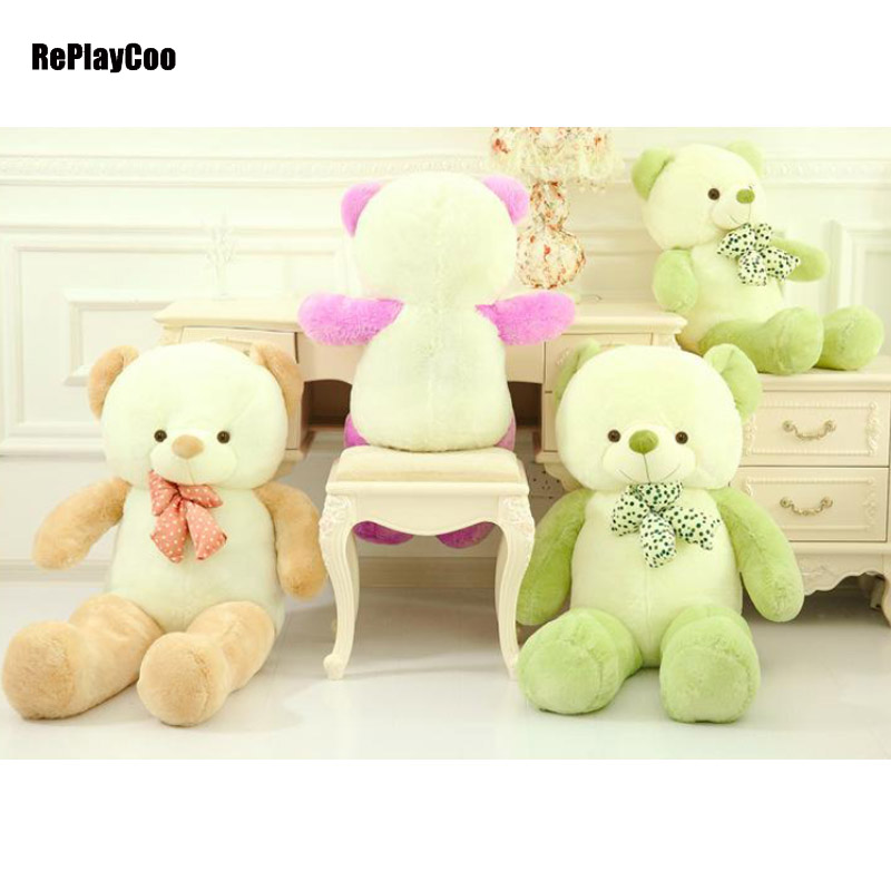 160cm/64'' Huge Gaint Kawaii Joint Teddy Bears Stuffed Plush Only Skin Without PP Cotton Toy Teddy-Bear Ted Bears Plush Toys 008 5pcs lot 210cm 84 huge gaint joint teddy bears stuffed plush only skin without pp cotton toy teddy bear ted bears plush toys