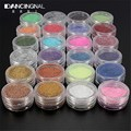 24 Colors Nail Art Salon Glitter Acrylic Powder For Women DIY Nails Beauty Manicure Dust Gel Tools Random Color Free Shipping