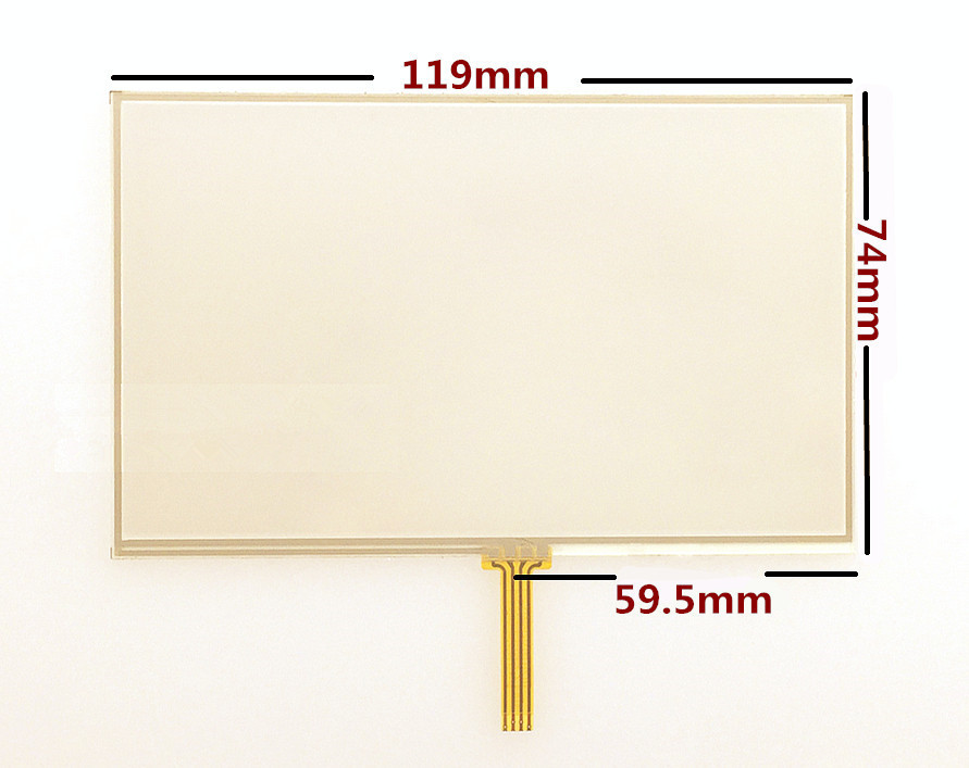 10pcs/lot New 5-inch Touch Screen Panels For TomTom XXL IQ Routes GPS Touch Screen Digitizer Panel Replacement Free Shipping