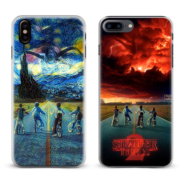 coque iphone x stranger things
