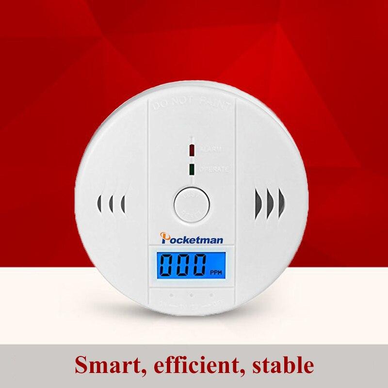 LED Digital Display Carbon Monoxide Detectors Voice Strobe Home Security Safety CO Gas Carbon Alarm Detector Sensor Alarm