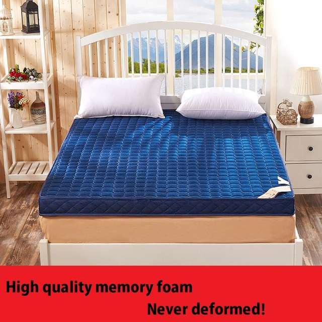 Songkaum New Style High Resilience Memory Foam Mattress Classic Design 190cm Long Quality Thick Warm