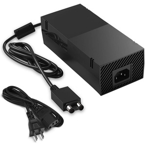 "Image 1 - 220W עבור Xbox אחד Xbox 1 אספקת חשמל, AC מתאם החלפת מטען w/כבל בריק מתקדם השקט גרסה 100 240V ארה""ב Plug"