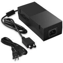 220W dla Xbox One Xbox 1 zasilacz, Adapter AC wymienna ładowarka z kablem cegła zaawansowana najcichsza wersja 100 240V wtyczka amerykańska