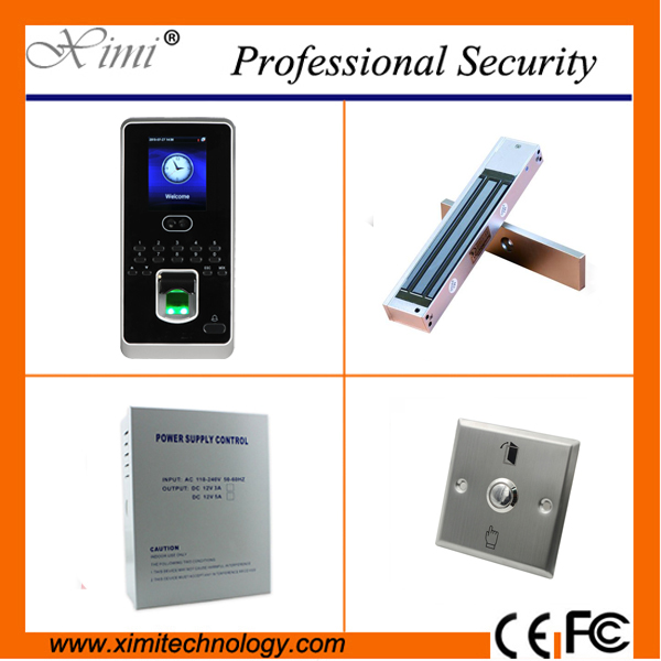 New arrival standalone linux system face fingerprint access control 400 face user free sdk door access controller kit