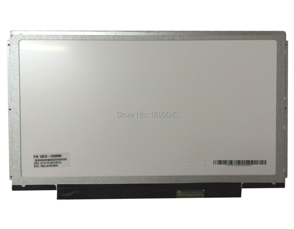 HW13WX203 fit B133XW03 B133XW01 N133BGE-L41 40PIN LCD 13.3 HD GLARE SLIM LED Screen Young Light Screen Panel NEW free shipping n133bge l41 n133bge l31 b133xw01 v 0 lp133wh2 tle1 for lenovo u310 u350 v360 v370g z370 z380 lcd screen lvds 40pin