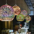 Ретро подвесной светильник с витражными стеклами для кухни столовой бара спальни промышленные светильники для помещений Марокканская Под...
