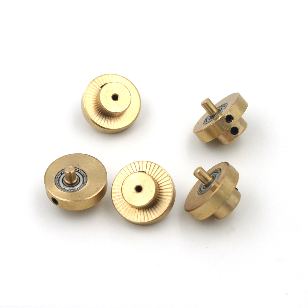 5 Pieces Brass Rotary Tattoo Machine Motor Cam Replacement Parts for Tattoo Machine Building or Replacement 3.5 mm & 4.5 mm Cam