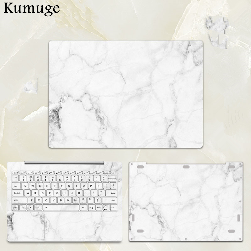 White Marble Laptop Sticker for Xiaomi Notebook Mi Pro 15.6 Air 12.5 13.3 Vinyl Decal Laptop Protective SKin for Xiaomi Air 13