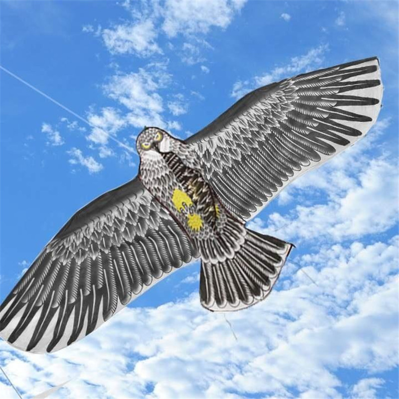 1.6m Eagle Kite Novelty Animal Kites Chinese Eagle Flying Kites High Quality Funny Sports Toys Pipa Voadora