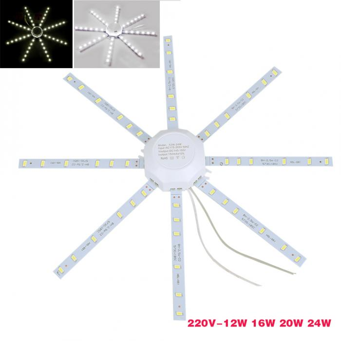 12W/16W/20W/24W LED Ceiling Lamp SMD 5730 PCB Board Modified Source LED Bulb Light 220V-- WWO66