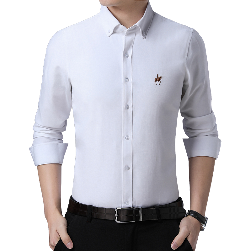 ea31565a882 Detail Feedback Questions about Men Shirts Casual Long Sleeved Solid Shirt  Slim Fit Male Social Spring Autumn Dress Shirts Mens Cotton Shirt Asian  Size M ...
