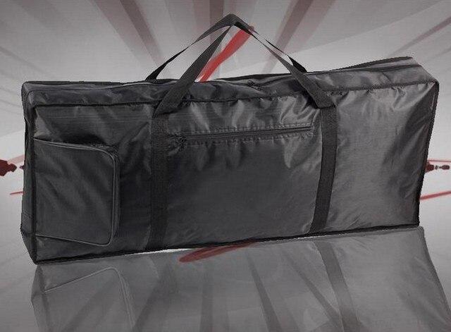 76 key orgatron thickening plus cotton bag general keyboard bag double-shoulder keyboard package set