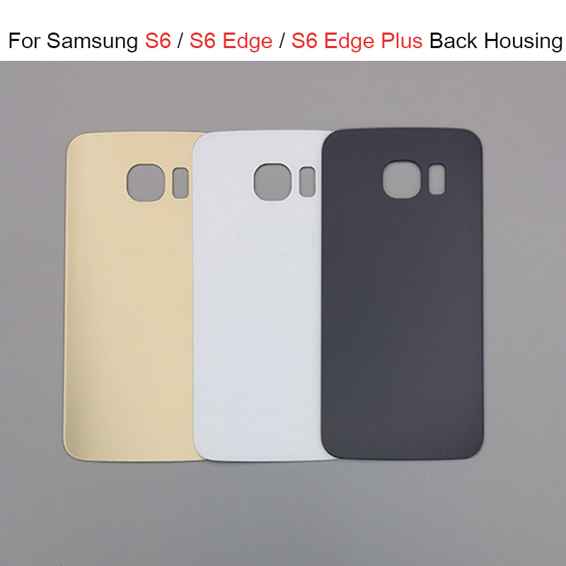 100% New For <font><b>SAMSUNG</b></font> <font><b>Galaxy</b></font> <font><b>S6</b></font> S6edge Back <font><b>Glass</b></font> Battery Cover Housing Case <font><b>Replacement</b></font> For <font><b>SAMSUNG</b></font> <font><b>GALAXY</b></font> G920F G925F image