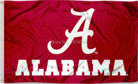 University of Alabama  Flag 150X90CM NCAA 3X5FT Banner 100D Polyester grommets custom009, free shipping